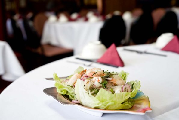 A photo of Special Warm Seafood Salad